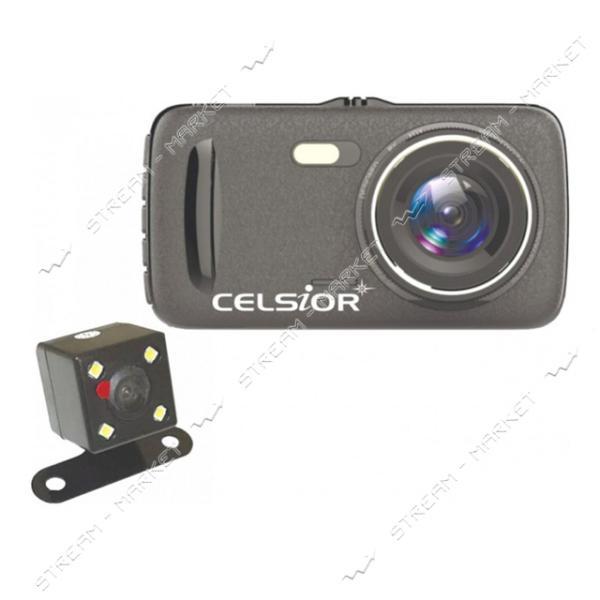 Автомобильный цифровой видеорегистратор CELSIOR DVR CS-711 DUO HD