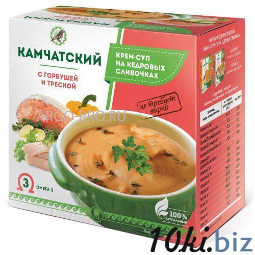 Крем-суп «Камчатский» с горбушей и треской Готовые блюда в Самаре