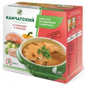Фото ПРАВИЛЬНОЕ ПИТАНИЕ Крем-суп «Камчатский» с горбушей и треской