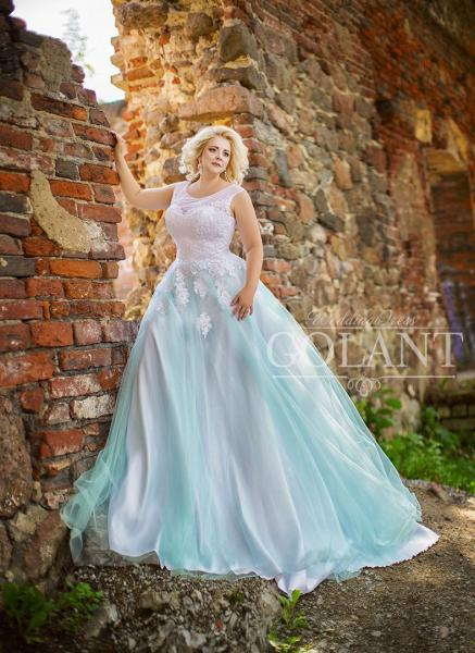 Свадебное платье Рагнеда дизайнерская коллекция 2019