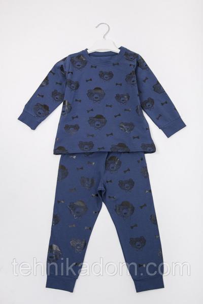 Пижама 71100 (т.джинс)