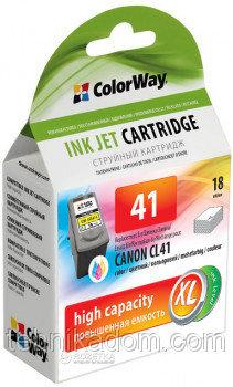 Картридж ColorWay Canon CL41 Color (CW-CCL41)