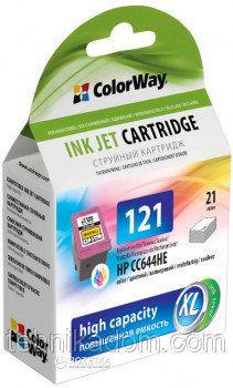 Картридж ColorWay HP CC644HE (№121XL)