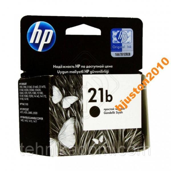 Картридж HP C9351BE (№21) Black Simple