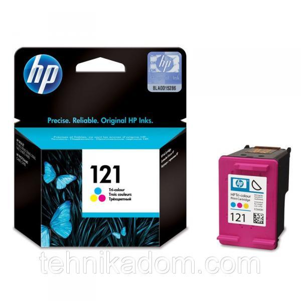 Картридж HP 121 CC643HE цветной