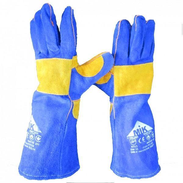 Перчатки рабочие (краги) для защиты от контактного и конвективного тепла EW 009