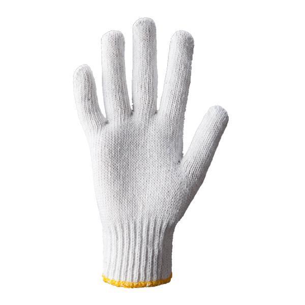 Перчатки рабочие трикотажные белые, арт.554