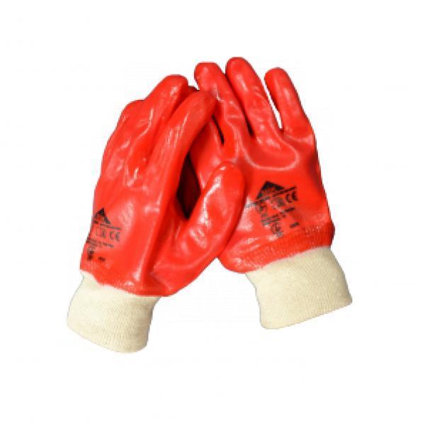 Перчатки с ПВХ полным покрытием Red Star
