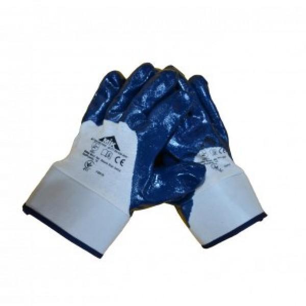 Перчатки с нитрильным частичным покрытием Azure Star 0402