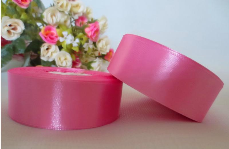 Фото Ленты, Лента атласная  однотонная 4 см Атласная лента 4 см ,цвет ярко розовый