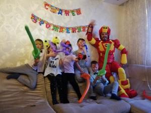 Фото  Железный человек на День Рождения