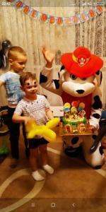 Фото  Щенячий патруль Маршал на День Рождения