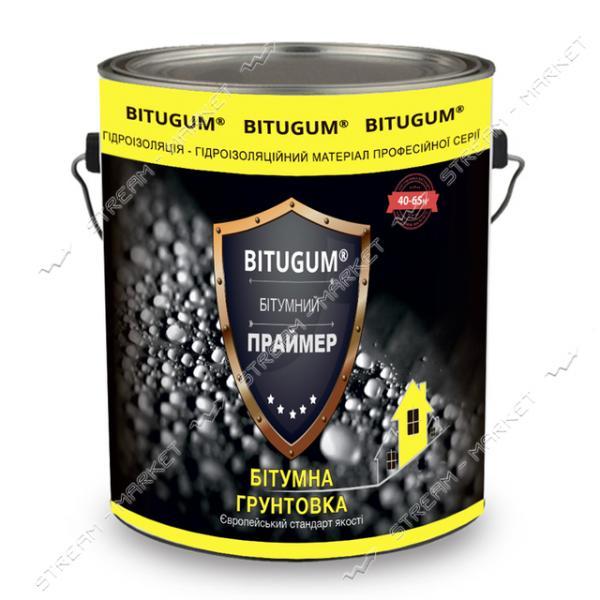 Праймер BITUGUM битумно-каучуковый 3л