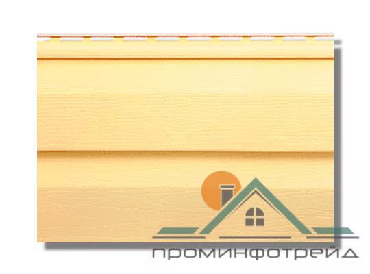 Фото Металлический сайдинг / Сайдинг ПВХ, Альта-Профиль, KANDA+ (Канада плюс) Сайдинг KANDA+ (Канада плюс) Желтый