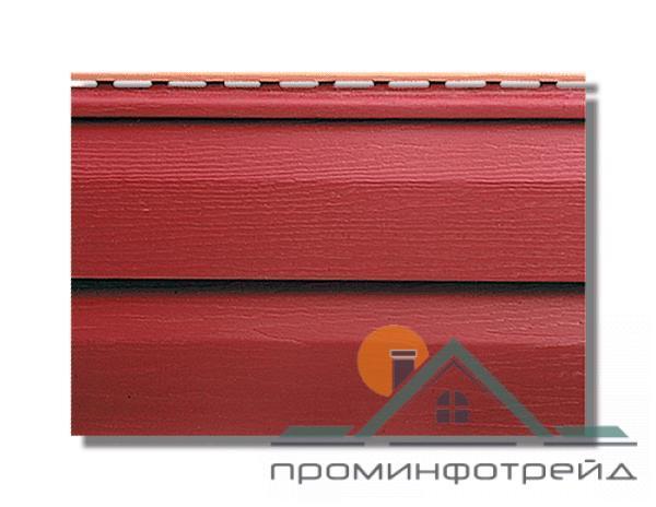 Фото Сайдинг, Альта-Профиль, KANDA+ (Канада плюс) Сайдинг KANDA+ (Канада плюс) Красный