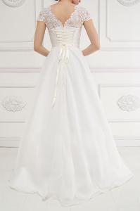 Фото Свадебные платья Нежное свадебное платье пудра Лиза