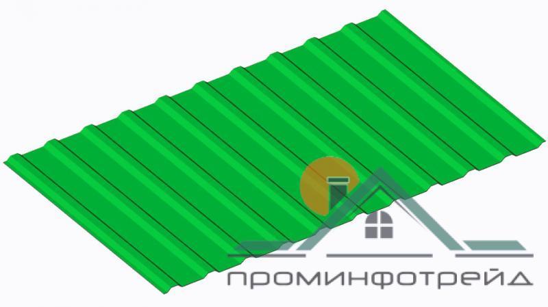 Фото Профнастил, Профнастил С-10 сторона А, Стеновой Профнастил С-10 сторона А, Стеновой, Цинк 0,45 мм, Украина