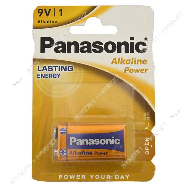 Батарейка щелочная Panasonic Alkaline Power Bronze 6LR61APB/BP 9V