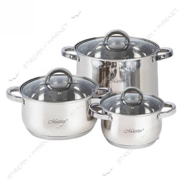 Набор посуды Maestro MR-2120-6L