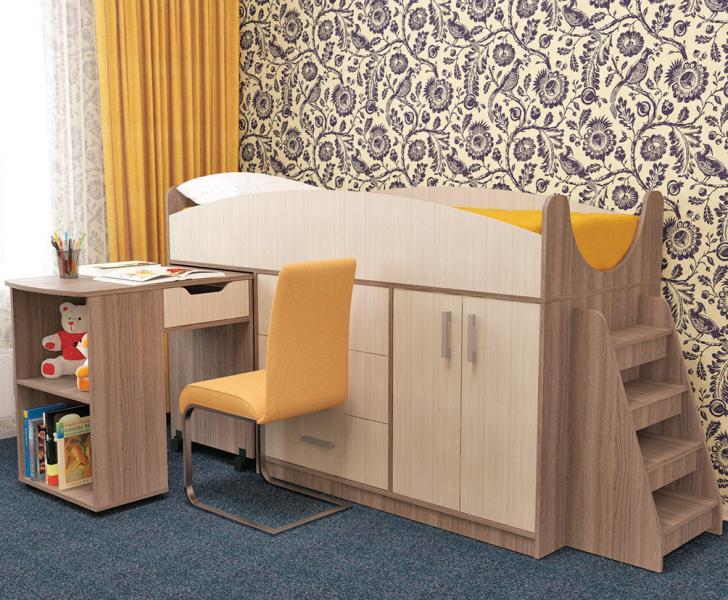 Фото Детская мебель Кровать детская Рокси (Пирамида)