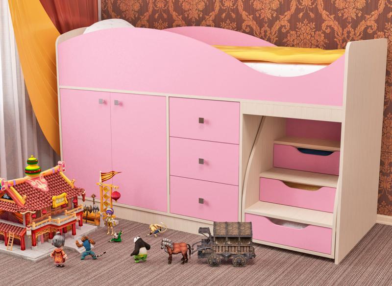 Фото Детская мебель Кровать детская Стрелка (Пирамида)