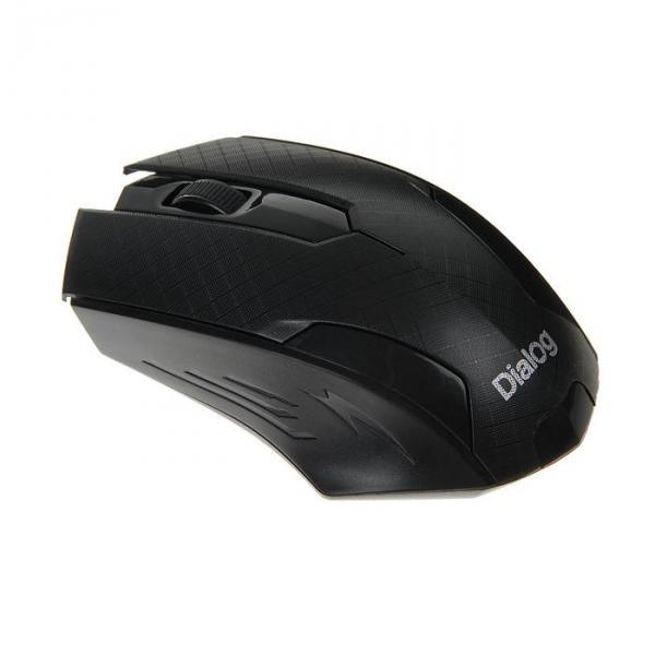 Мышь Dialog Pointer MROP-07U BLACK, беспроводная, оптическая, черная