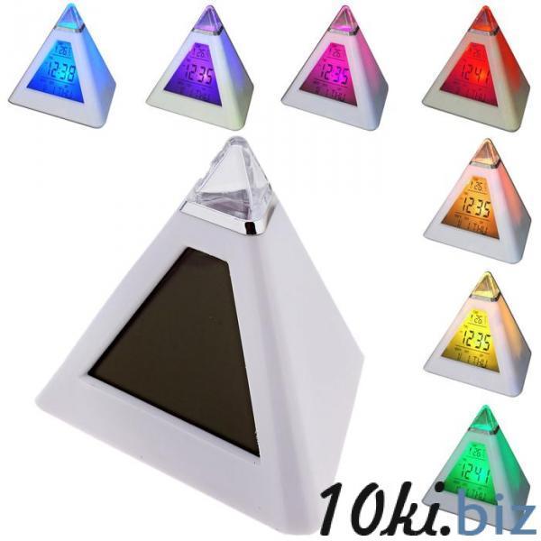 Часы-будильник Пирамида (антистресс) купить в Беларуси - Часы настольные