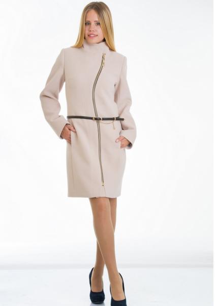 Пальто женское №4 (бежевый)