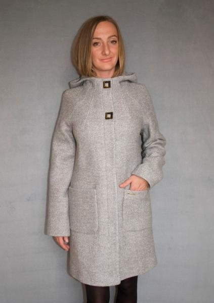 Пальто женское №52/1 (светло-серый)