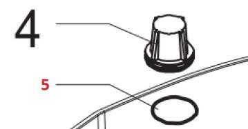 Кольцо уплотнительное на фильтр воды 140328462