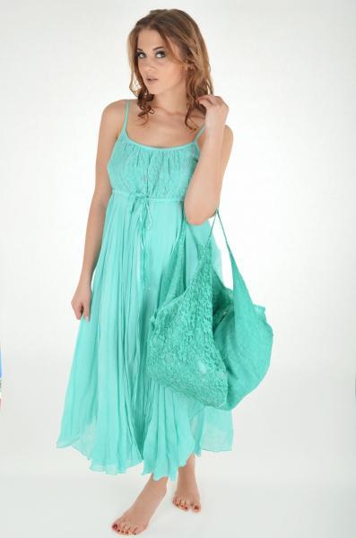 Большая пляжная сумка Iconique KF 5111 M One Size Зеленый