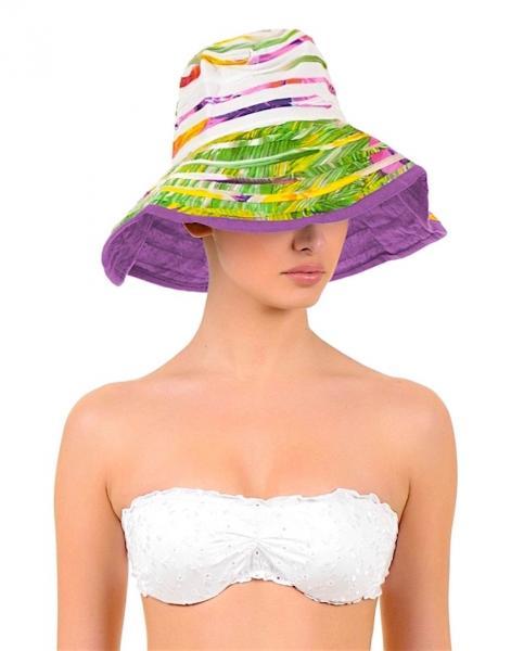 Мягкая пляжная шляпа Iconique KN 610 One Size Фуксия