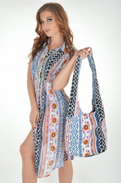 Цветная пляжная сумка Iconique IC7 037 One Size Цветной