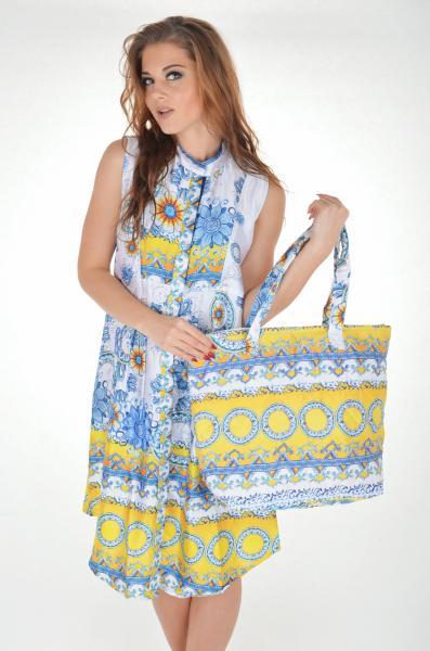 Большая пляжная сумка Iconique IC7 086 One Size Белый