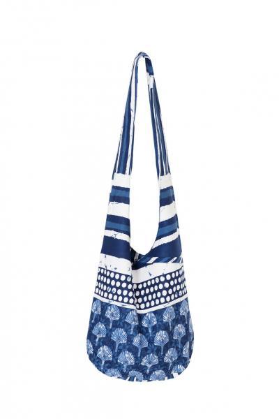 Мягкая пляжная сумка David DB8-021 One Size Синий