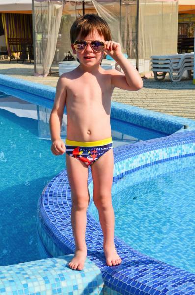 Плавки для мальчика Keyzi Sea G 104 Желтый