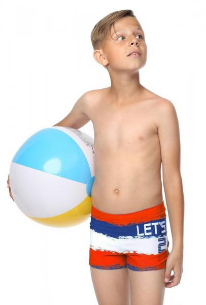 Детские плавки боксер Keyzi Let's Move boxer R 116 Красный Keyzi Lets Move boxer R