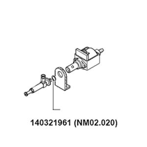 Кольцо уплотнительное на клапан сброса помпы Royal / Vienna / Odea / Talea  NM02.020 (140321961)  OR 2031 EPDM