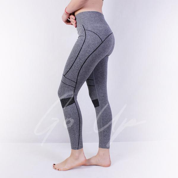 Женские спортивные лосины, Yumlan, 4 цвета, тайтсы, леггинсы, одежда, для фитнеса, спорта, йоги, бега, танцев Серый
