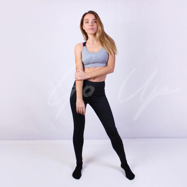 Спортивные женские топы для фитнеса, йоги, бега. 4 цвета. Топ, бра, топик, одежда, спортивный бюстгальтер Серый