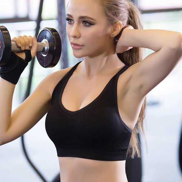 Спортивные женские топы для фитнеса, йоги, бега. 3 цвета. Топ, бра, топик, одежда, спортивный бюстгальтер