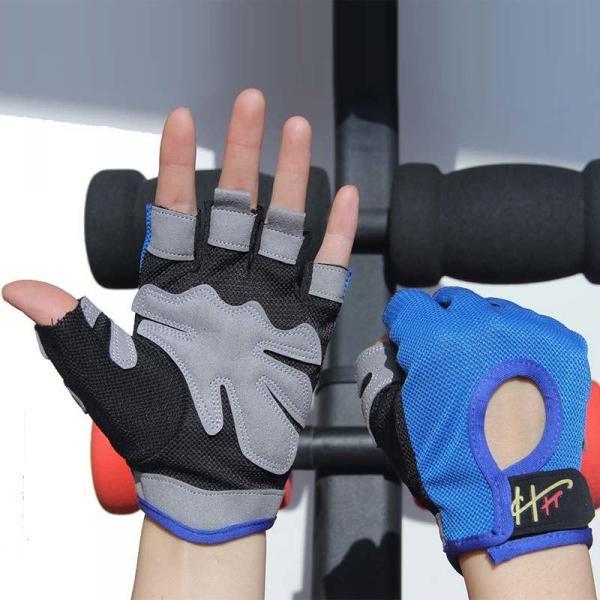 Спортивные женские перчатки, 3 цвета, для фитнеса, спортзала, бега, велосипедной прогулки с подушками