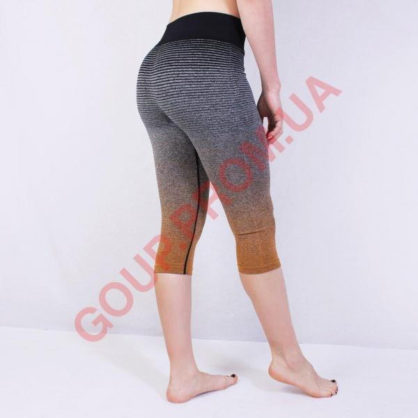 Женские спортивные лосины для спорта, 3\4, 4 цвета, спортивная одежда для фитнеса, для йоги, леггинсы Зеленый