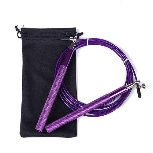 Скакалки для прыжков, с регулировкой, 3 цвета Фиолетовый