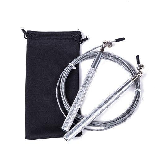 Скакалки для прыжков, с регулировкой, 3 цвета Серый