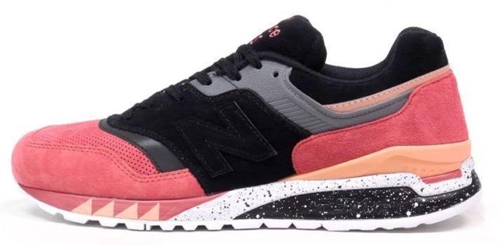 Кросівки чоловічі, obuwie męskie Нью Беленс, баланси, Нью Баланс Sneaker Freaker x New Balance 997.5 Tiger Black/Bordo.