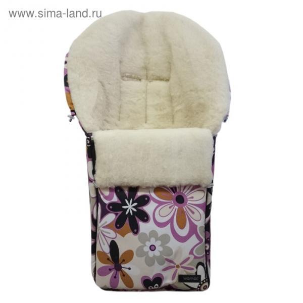 Спальный мешок в коляску Aurora, 17 цветки