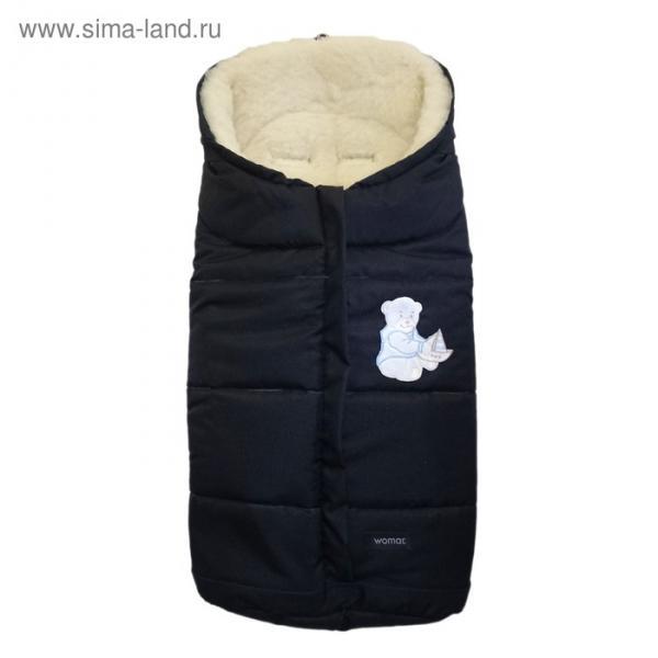 Спальный мешок в коляску Wintry, 12 чёрный