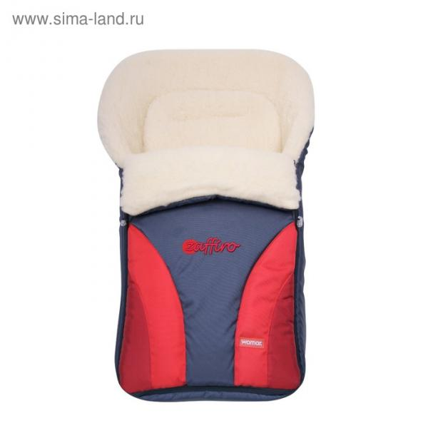 Спальный мешок в коляску Crocus, 4 красный