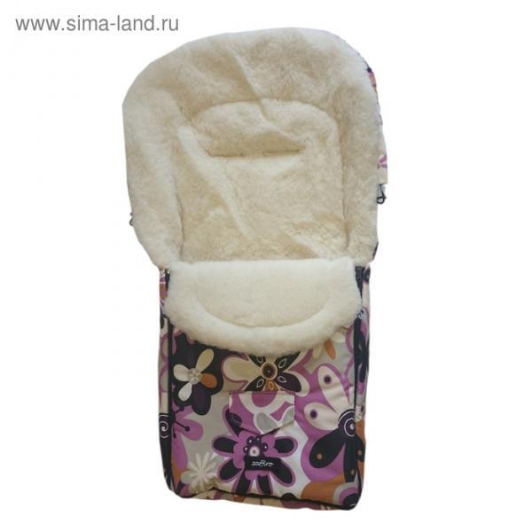 Спальный мешок в коляску North pole, 17 цветки